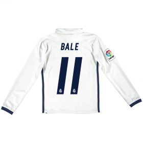Real Madrid Home Jersey 2016/17 - Kids - Long sleeve -