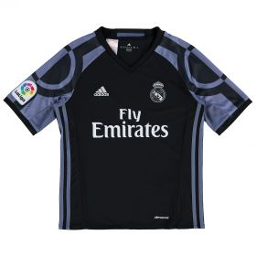 Real Madrid Third Shirt 2016-17 - Kids with Lucas V. 17 printing