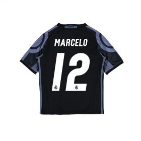 Real Madrid Third Shirt 2016-17 - Kids with Marcelo 12 printing