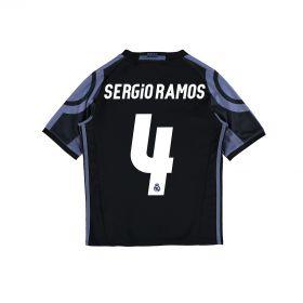 Real Madrid Third Shirt 2016-17 - Kids with Sergio Ramos 4 printing