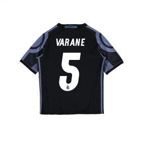 Real Madrid Third Shirt 2016-17 - Kids with Varane 5 printing