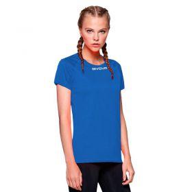 Дамска Тениска GIVOVA Shirt One ML 0002