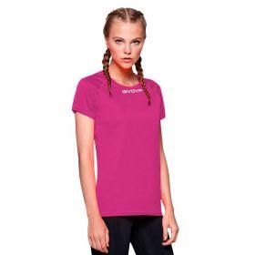 Дамска Тениска GIVOVA Shirt One ML 0006