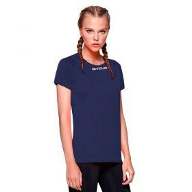 Дамска Тениска GIVOVA Shirt One ML 0004