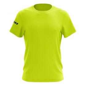Детска Тениска ZEUS T-Shirt Basic Giallo Fluo