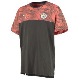 Manchester City Casuals T-Shirt - Dark Grey