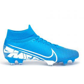 Nike Mercurial Superfly 7 Pro Firm Ground Football Boots - Blue