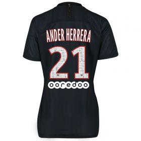 Paris Saint-Germain 2019-20 Fourth Stadium Shirt - Womens with Ander Herrera 21 printing