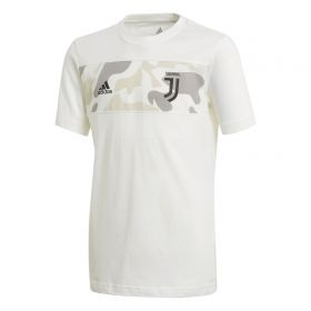 Juventus Logo Graphic Tee - White - Kids