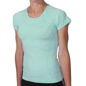 Дамска Тениска MORE MILE Seamless Lite Short Sleeve Ladies Running Top