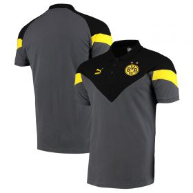BVB Iconic MCS Polo - Yellow