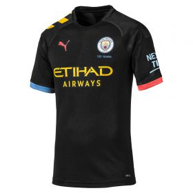 Manchester City Authentic Away Shirt 2019-20 with De Bruyne 17 printing