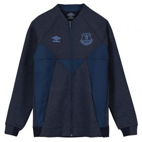 Everton Presentation Jacket - Dark Blue - Kids