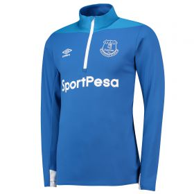 Everton Training Half Zip Sweatshirt - Royal Blue