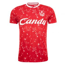 Liverpool 1989-91 Candy Home Shirt