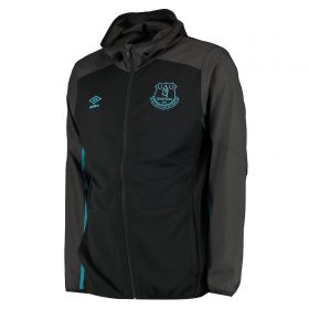 Everton Hooded Jacket - Black