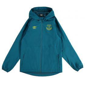 Everton Training Shower Jacket - Blue - Kids