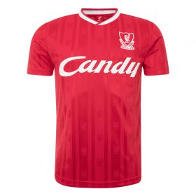Liverpool 1988-89 Candy Home Shirt