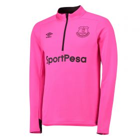 Everton Training Half Zip Sweatshirt - Pink
