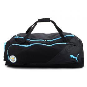 Manchester City XXL Wheel Bag - Light blue