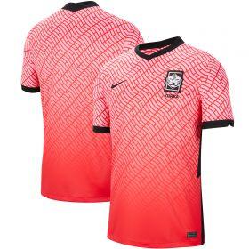 South Korea Home Stadium Shirt with H M Son 7 printing