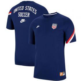 USA Breathe Training Top - Blue