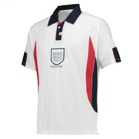 England 1998 World Cup Finals Shirt with Alan Shearer 9 printing