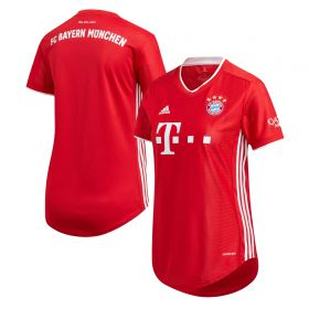 FC Bayern Home Shirt 2020-21 - Womens