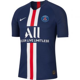 Paris Saint-Germain Home Vapor Match Shirt 2019-20 with Mbappé 7 printing