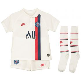 Paris Saint-Germain Third Stadium Kit 2019-20 - Little Kids with Mbappé 7 printing