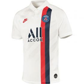 Paris Saint-Germain Third Stadium Shirt 2019-20 with Verratti 6 printing