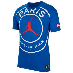 Paris Saint-Germain x Jordan Logo T-Shirt - Mens