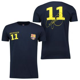 Barcelona 2016 Tour Player T-Shirt Neymar.Jr 11 - Mens - Navy