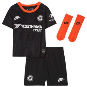 Chelsea Third Stadium Kit 2019-20 - Infants with Abraham 9 printing