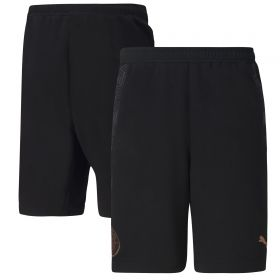 Manchester City Casuals Shorts - Black