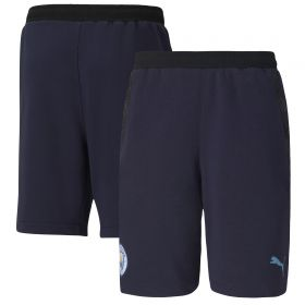 Manchester City Casuals Shorts - Navy