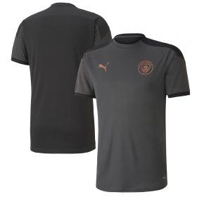 Manchester City Training Jersey - Dark Grey - Kids