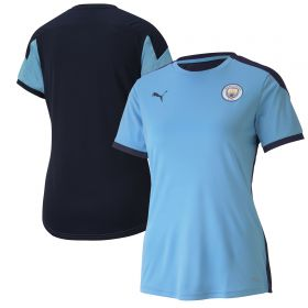 Manchester City Training Jersey - Sky Blue - Womens