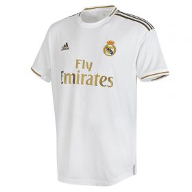 Real Madrid Home Authentic Shirt 2019-20 with Benzema 9 printing