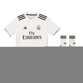 Real Madrid Home Kids Kit 2018-19 with Sergio Ramos 4 printing