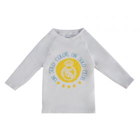 Real Madrid Sun Protection Beach T-Shirt - White - Infants