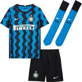 Inter Milan Home Stadium Kit 2020-21 - Little Kids