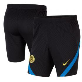 Inter Milan Strike Shorts - Black