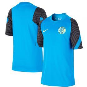 Inter Milan Strike Training T-Shirt - Blue - Kids