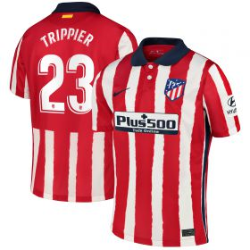 Atlético de Madrid Home Stadium Shirt 2020-21 - Kids with Trippier 23 printing
