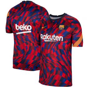 Barcelona Breathe Training Top - Red