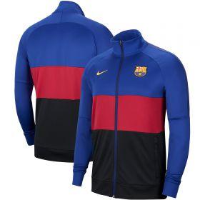 Barcelona I96 Anthem Track Jacket - Deep Royal Blue