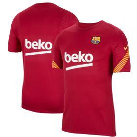 Barcelona Strike Training T-Shirt - Red