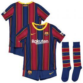 Barcelona Home Stadium Kit 2020-21 - Little Kids