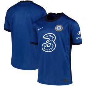 Chelsea Home Stadium Shirt 2020-21 - Kids with Giroud 18 printing